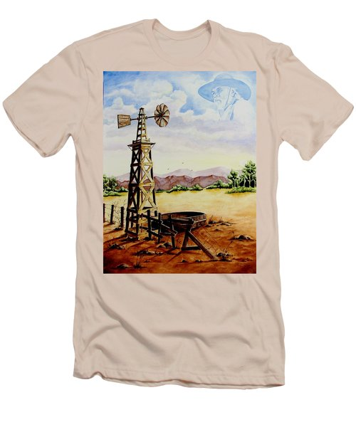 Lonesome Prairie Men's T-Shirt (Athletic Fit)