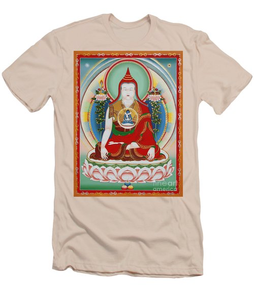 Longchenpa Men's T-Shirt (Slim Fit) by Sergey Noskov