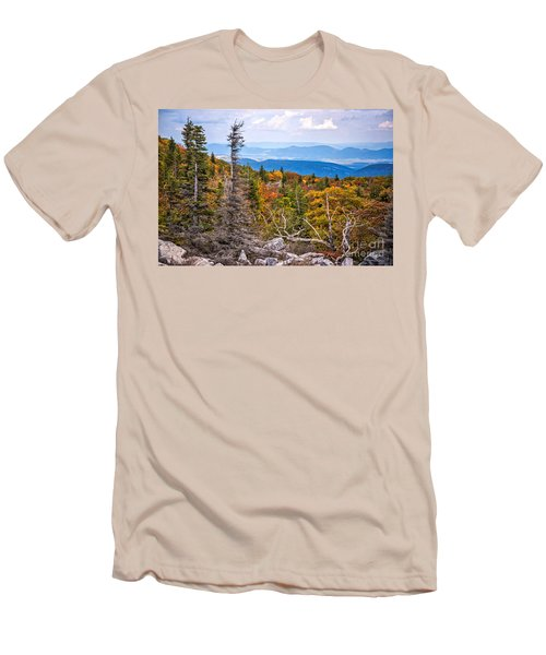 Looking East From Bear Rocks 4290c Men's T-Shirt (Athletic Fit)