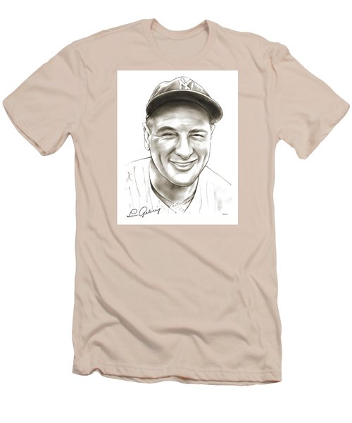 Lou Gehrig Men's T-Shirt (Athletic Fit)