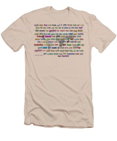 Louis Men's T-Shirt (Athletic Fit)