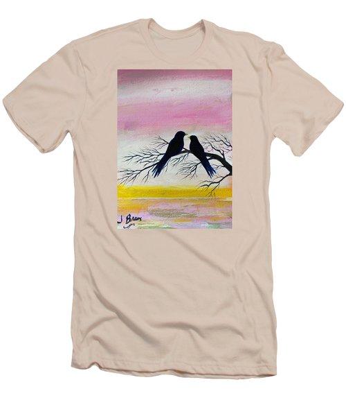 Love Birds Men's T-Shirt (Slim Fit) by Jack G  Brauer