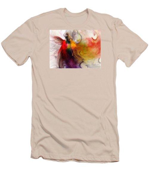 Love Of Liberty Men's T-Shirt (Slim Fit) by Karin Kuhlmann