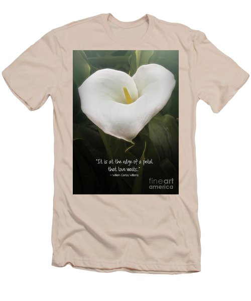 Men's T-Shirt (Athletic Fit) featuring the photograph Love by Peggy Hughes