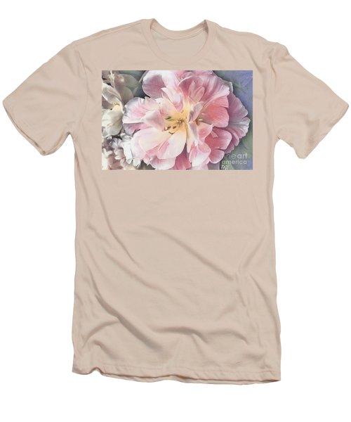 Loveliness Flower Men's T-Shirt (Slim Fit) by Marsha Heiken