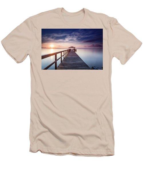 Men's T-Shirt (Slim Fit) featuring the photograph Lumos Maxima by Edward Kreis