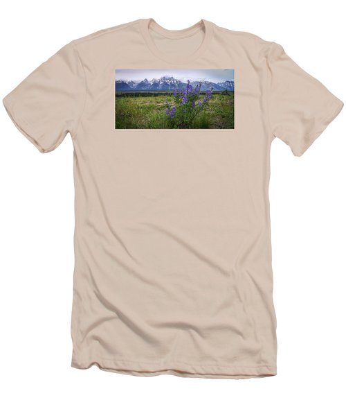 Lupine Beauty Men's T-Shirt (Slim Fit) by Chad Dutson