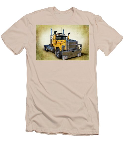 Mack Truck Men's T-Shirt (Slim Fit) by Keith Hawley