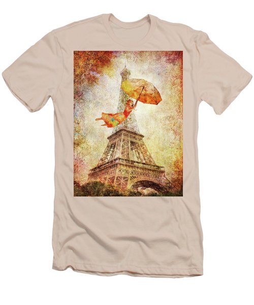 Magically Paris Men's T-Shirt (Athletic Fit)