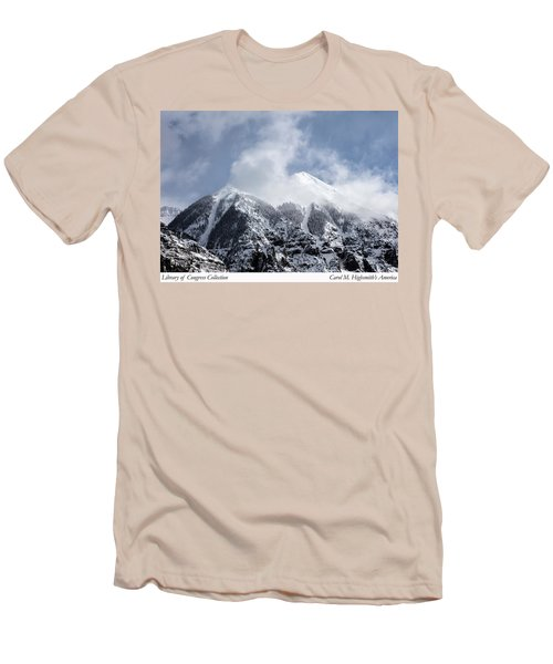 Men's T-Shirt (Slim Fit) featuring the photograph Magnificent Mountains In Telluride In Colorado by Carol M Highsmith