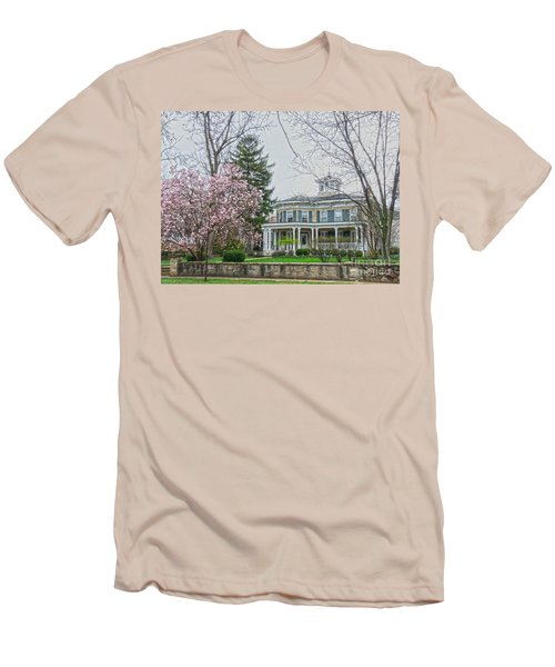 Magnolia Time Men's T-Shirt (Slim Fit) by David Bearden