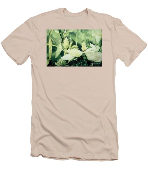 Magnolium Opus Men's T-Shirt (Slim Fit) by Elizabeth Carr