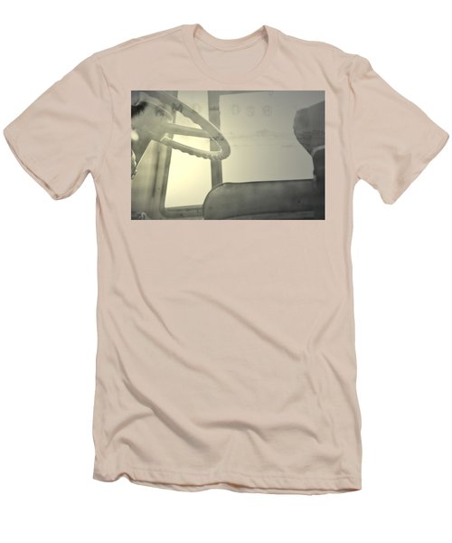 Men's T-Shirt (Slim Fit) featuring the photograph Maintenance  by Mark Ross