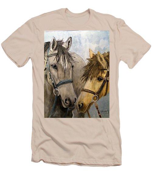 Making Friends Men's T-Shirt (Athletic Fit)