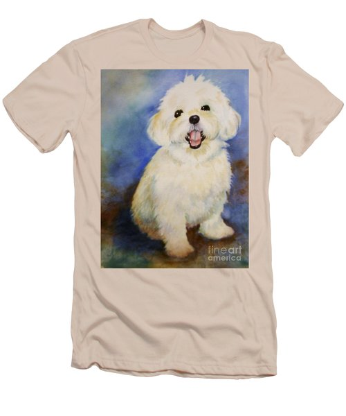 Maltese Named Ben Men's T-Shirt (Athletic Fit)