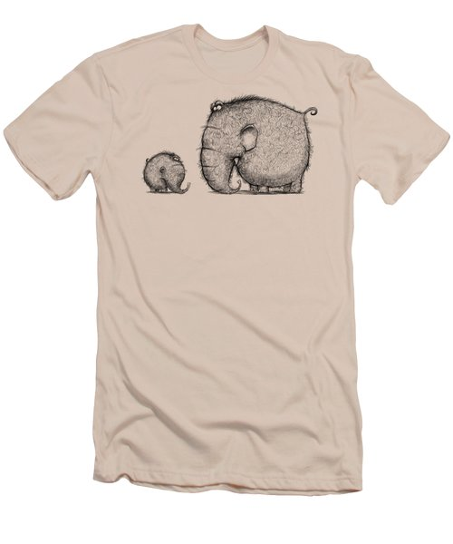Mammothz Men's T-Shirt (Slim Fit) by Andy Catling