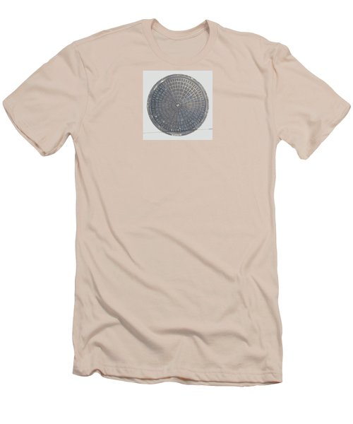 Manhole Cover Men's T-Shirt (Slim Fit) by Stan  Magnan