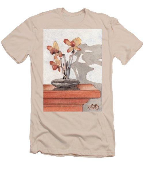 Mantel Flowers Men's T-Shirt (Athletic Fit)