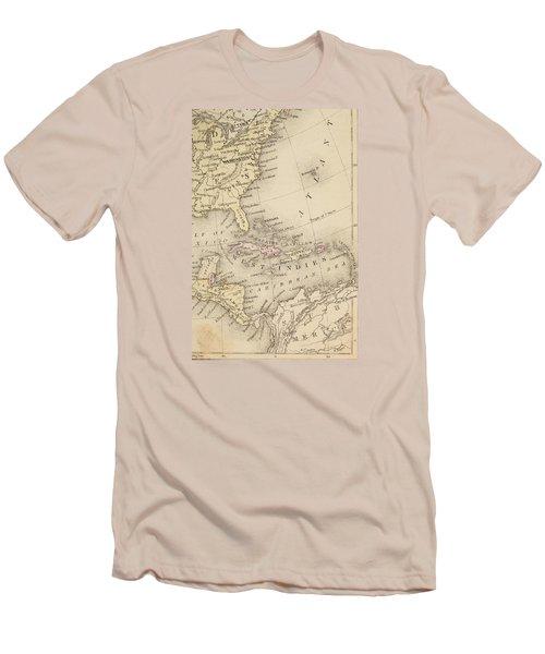 Map Men's T-Shirt (Athletic Fit)