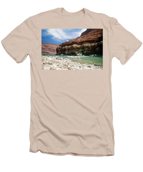 Marble Canyon Men's T-Shirt (Slim Fit) by Kathy McClure