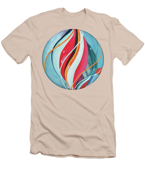 Marble Men's T-Shirt (Slim Fit) by Jutta Maria Pusl