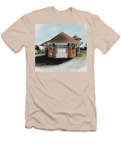 Marshallville Depot Men's T-Shirt (Athletic Fit)