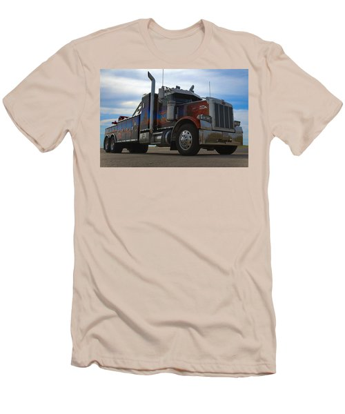 Marvins Big Rig Cars Movie Tribute Tow Truck Men's T-Shirt (Slim Fit) by Tim McCullough