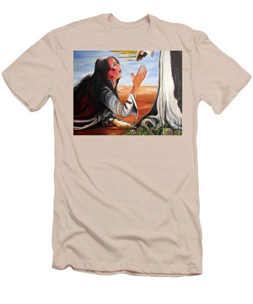Mary Magdalene Men's T-Shirt (Slim Fit) by Mary Ellen Frazee