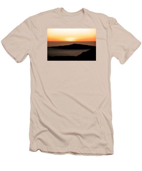 Mauna Kea Sunset Men's T-Shirt (Athletic Fit)