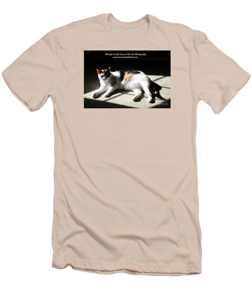 Mcg Tote Bag Men's T-Shirt (Slim Fit) by Marilyn Carlyle Greiner