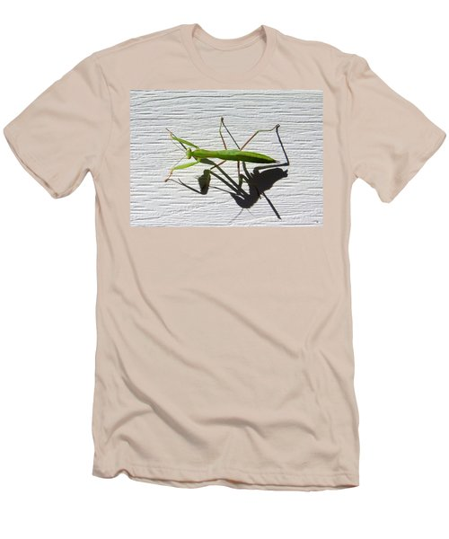 Men's T-Shirt (Athletic Fit) featuring the photograph Me And My Shadow by Will Borden