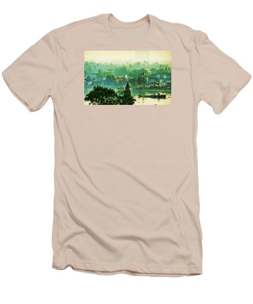 Mekong Morning Men's T-Shirt (Athletic Fit)