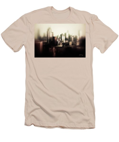 Melbourne Towers Men's T-Shirt (Slim Fit) by Joseph Westrupp