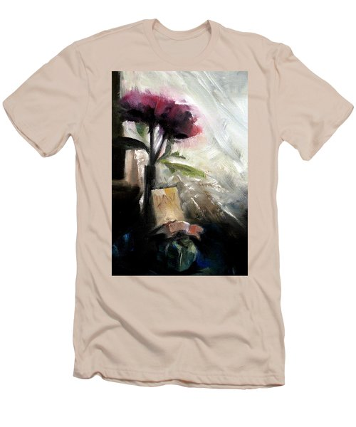 Memories In The Making Timeless Still Life Painting Men's T-Shirt (Slim Fit) by Michele Carter