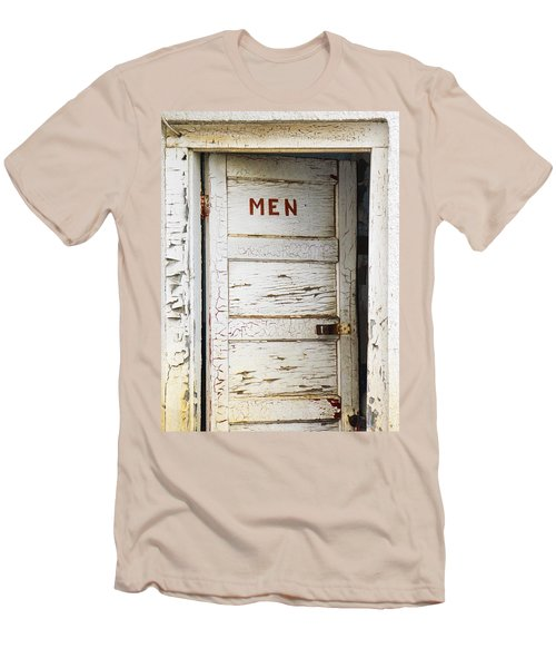 Men's Room Men's T-Shirt (Slim Fit) by Marilyn Hunt