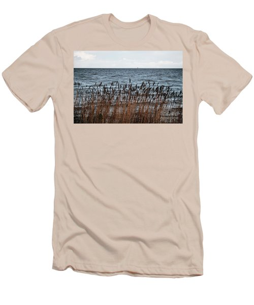 Metallic Sea Men's T-Shirt (Athletic Fit)