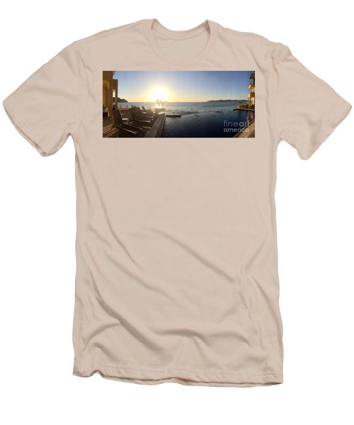 Men's T-Shirt (Slim Fit) featuring the photograph Mexico Memories 6 by Victor K