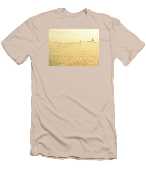 Men's T-Shirt (Slim Fit) featuring the photograph Miami Beach 2 by France Laliberte