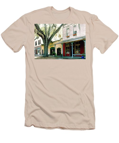 Micanopy Storefronts Men's T-Shirt (Athletic Fit)
