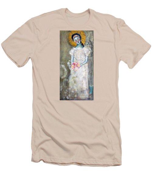 Midnight Muse Men's T-Shirt (Slim Fit) by Sharon Furner