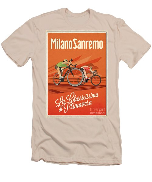 Milan San Remo Men's T-Shirt (Athletic Fit)