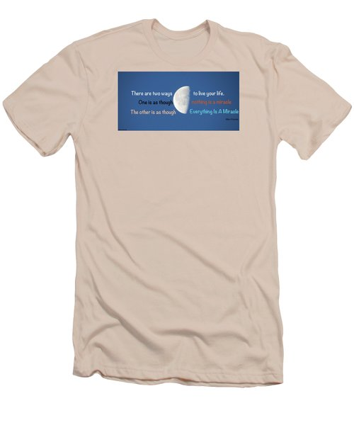 Men's T-Shirt (Slim Fit) featuring the photograph Miracles by David Norman