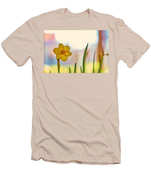 Miss Yellow Men's T-Shirt (Slim Fit) by Tgchan