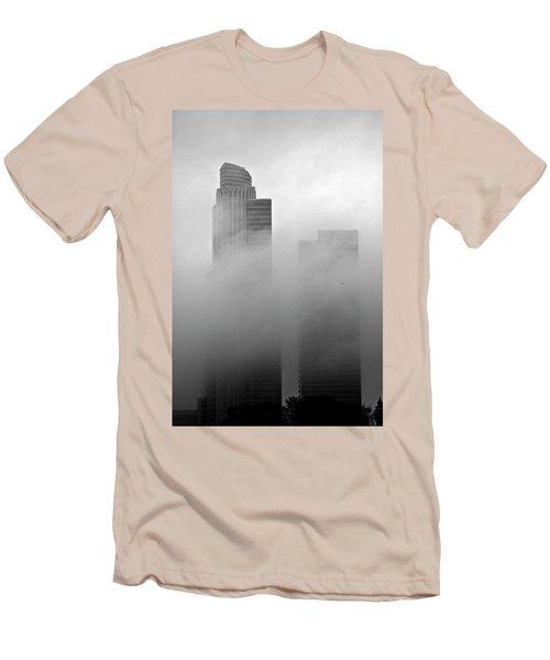 Misty Morning Flight Men's T-Shirt (Athletic Fit)