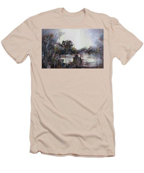 Misty Pond Men's T-Shirt (Athletic Fit)