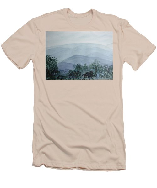 Misty Shenandoah Men's T-Shirt (Slim Fit) by Donna Walsh