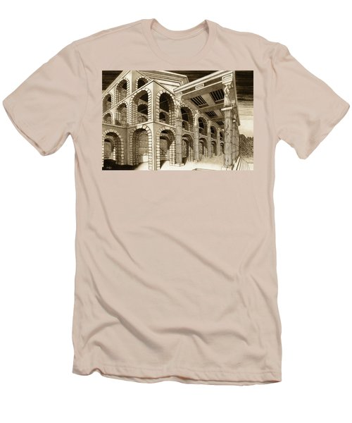Mithlond Gray Havens Men's T-Shirt (Athletic Fit)