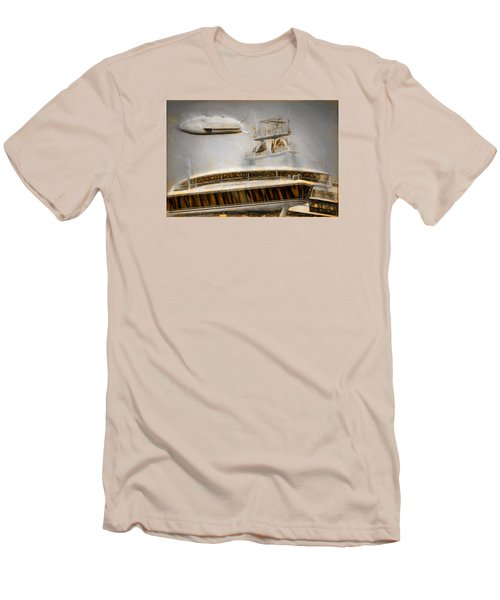 Moby Air Men's T-Shirt (Slim Fit) by Michael Cleere