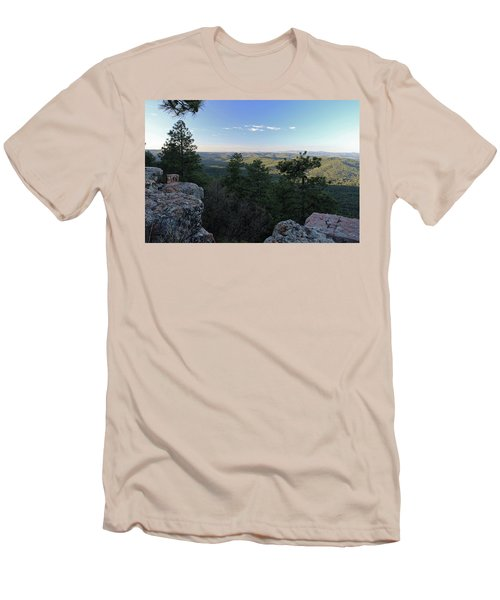 Men's T-Shirt (Slim Fit) featuring the photograph Mogollon Morning by Gary Kaylor