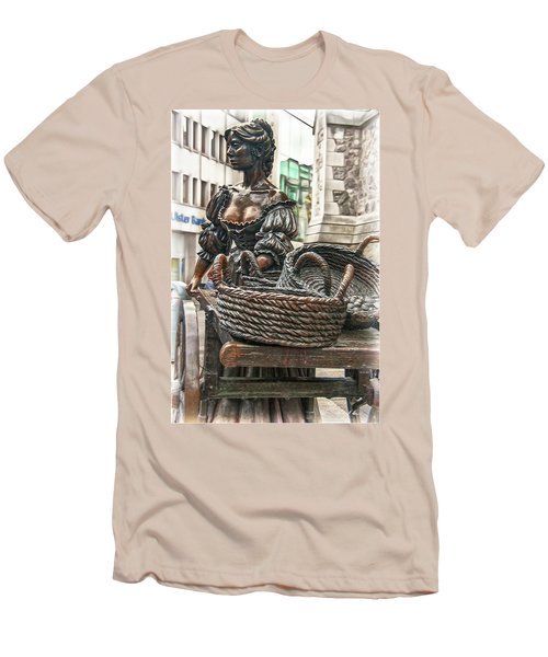 Men's T-Shirt (Athletic Fit) featuring the photograph Molly Malone by Hanny Heim